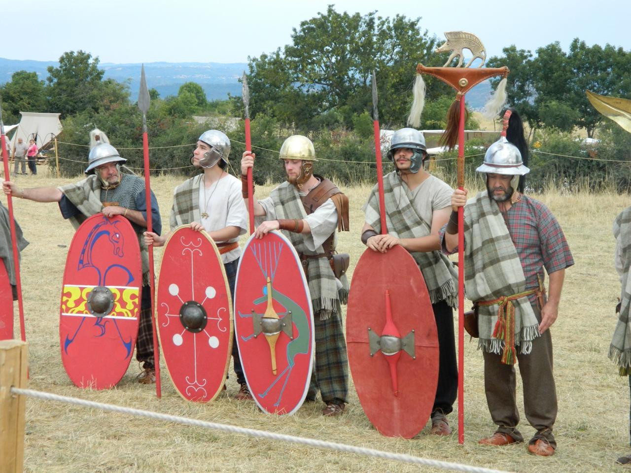 Présentation des guerriers arvernes - 2