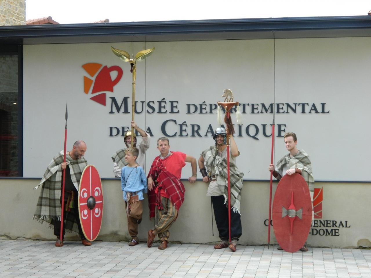 La Teuta Arverni au Musée de la Céramique!