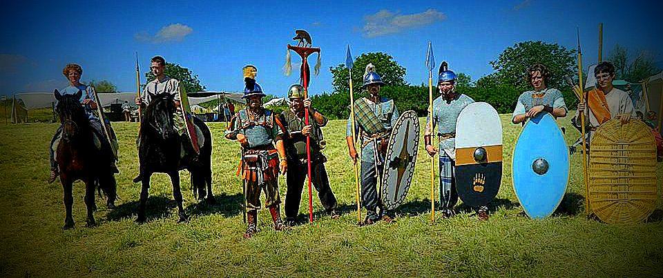guerriers et cavalier gergovie 2013 lomo