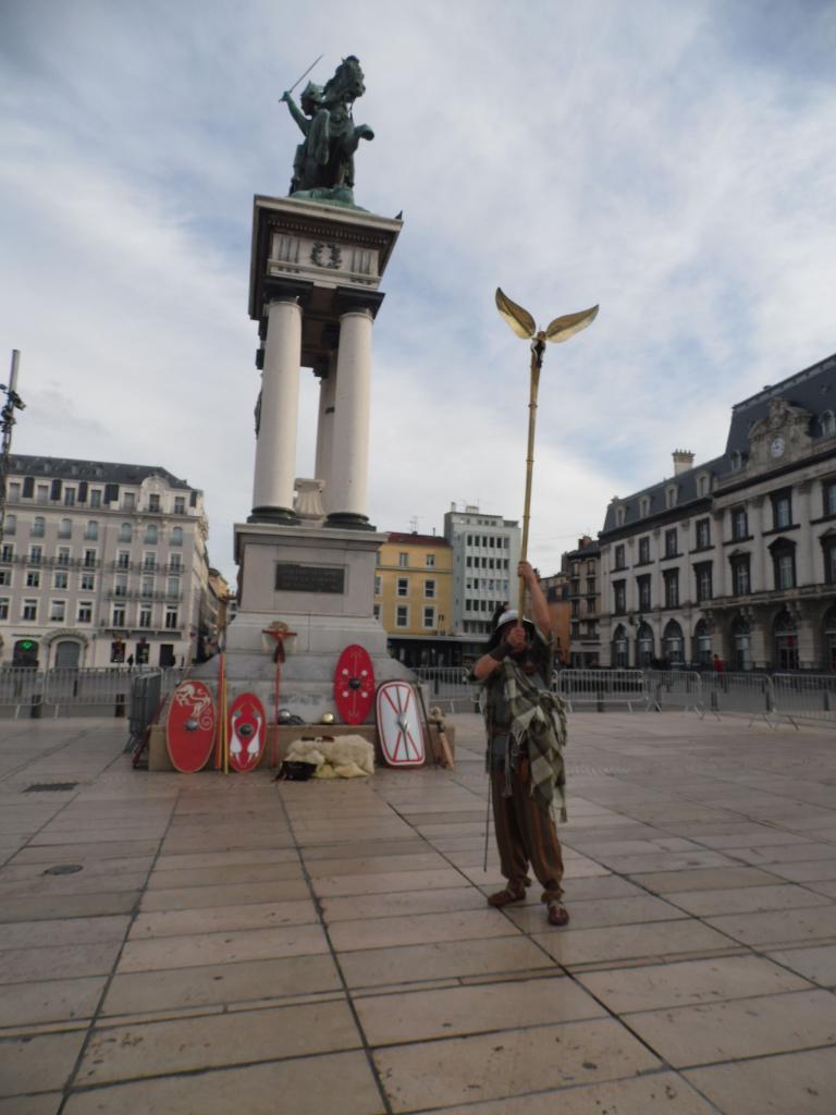 Le carnyx retentit Place de Jaude!