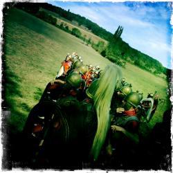 Troupe romaine avant l'assaut