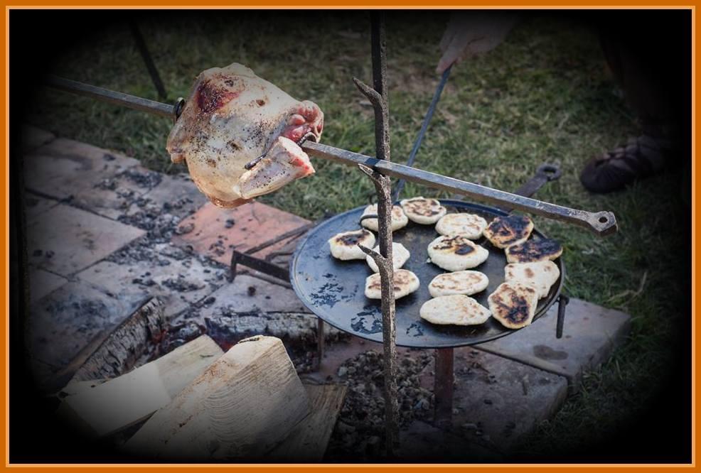 La cuisine gauloise for Art et cuisine chaudron line
